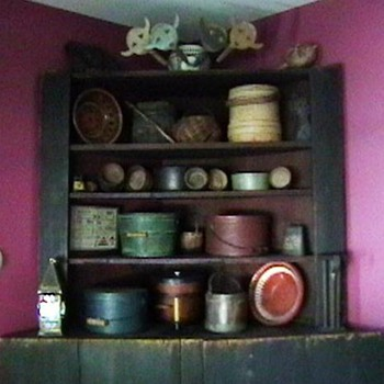 Late 1700's Corner Cupboard