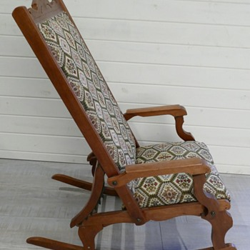 Antique Rocker Recliner