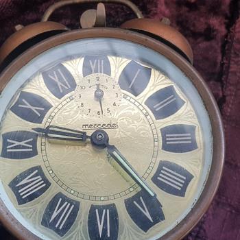 Vintage Mercedes Clock - Clocks