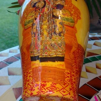 Vase design covers bottom