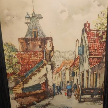 Jan Korthals - Originals or Litho/Prints - ???