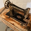 Old singer sewing machine 1800's