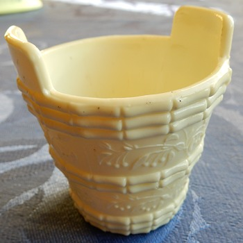 Sowerby milk glass - Glassware