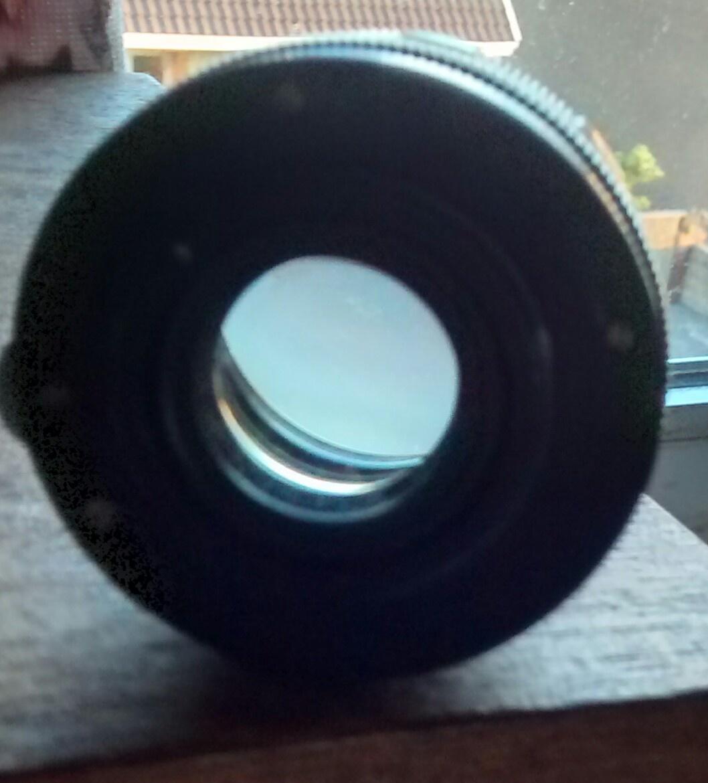 Helios - 44 Russian SLR film camera lens with original end