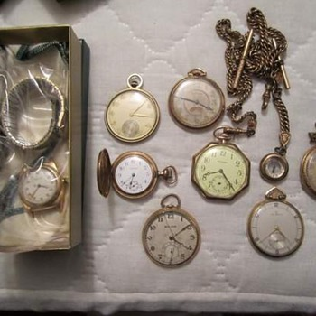 Old Watches - Pocket Watches