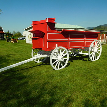 My wagon being restored is done.