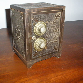 Little Metal Safe - Tools and Hardware