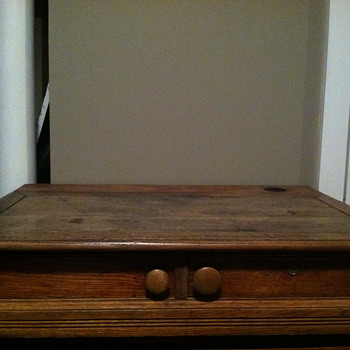 Spool cabinet desk - Furniture