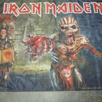 Book of Souls Tour Flag