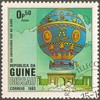 """1983 - Guinea-Bissau """"Balloons"""" Postage Stamps"""