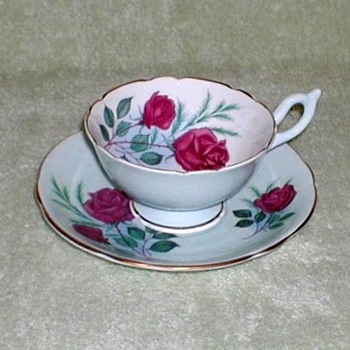 """Heathcote"" Bone China Cup & Saucer"