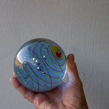 A HUGE Glass Marble