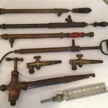 Brass implements - Tools and Hardware
