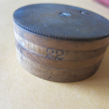 Antique Brad Nail Box, Can't find any like it online