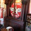 Del Monte Brunswick Balke Cigar & Liquor Cabinet/Bar Back