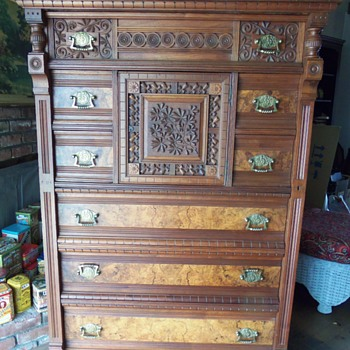 Please help identify this chifferobe, armoire. - Furniture