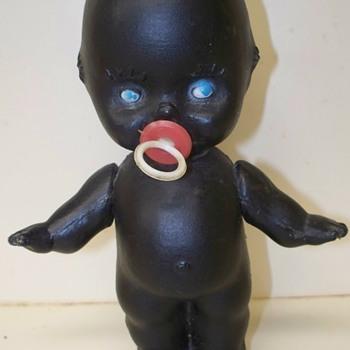 Black Kewpie Doll with Jumbo logo