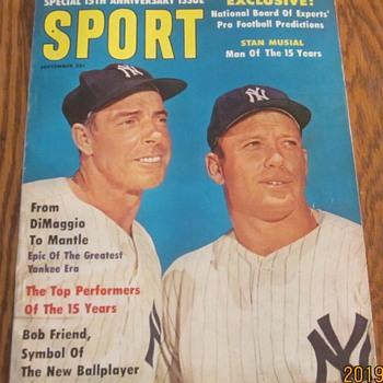 Baseball Magazines of long ago. - Baseball