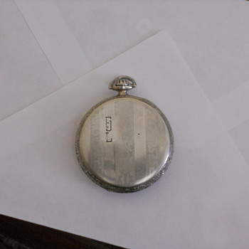 Early Elgin Tivoli Pocket watch