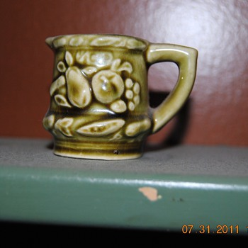 """""""Itsy Bitsy Teenie Weenie Pitcher""""...JAPAN is marked on the bottom... - Pottery"""