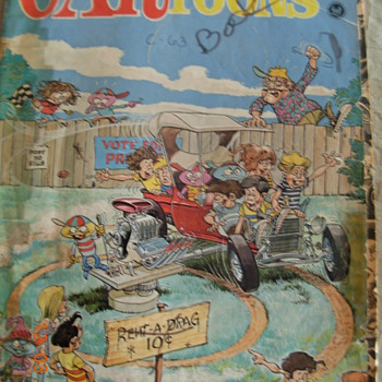 CARtoons (comic book from the 60's) - Comic Books