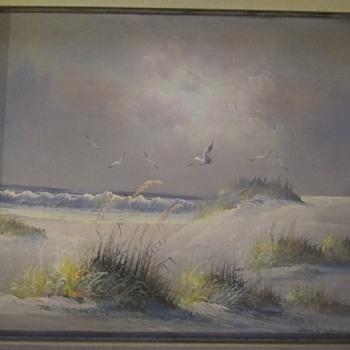 Ocean View Painting - Fine Art