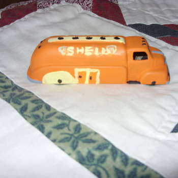 tootsie toy shell tanker - Model Cars