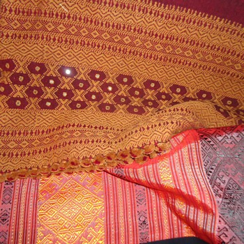 PriceQtyTotal # 14682982 - 2 Hand Made Table Covers + Donkey Carry Pouches$6.251$6.2
