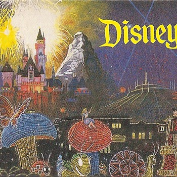 Light Bulb from Disneyland's Main Street Electrical Parade - Advertising