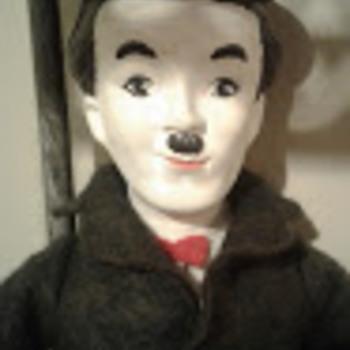 Vintage Charlie Chaplin doll - Dolls