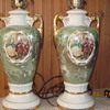 Vintage pair lamps