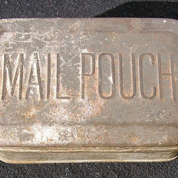 Mail Pouch Tobacco Tin