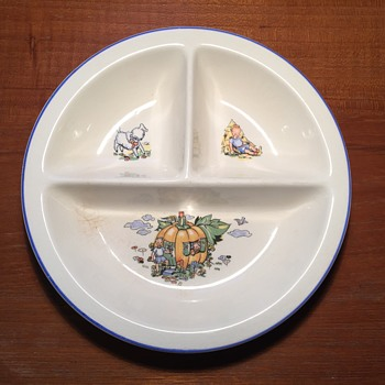 Salem China Co.  Child's Divided Dish - China and Dinnerware