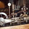Kingery popcorn/peanut roasting steam engine