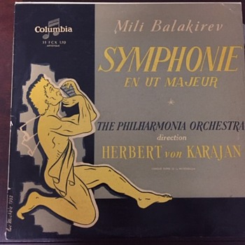 Rare? Mili Balakirev Symphonie En Ut Majeur - Records
