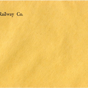 Norfolk & Western Envelope - Railroadiana
