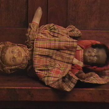 1870's Topsy Turvy Doll - Dolls
