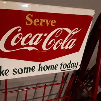 1960's Coca Cola Rack - Coca-Cola