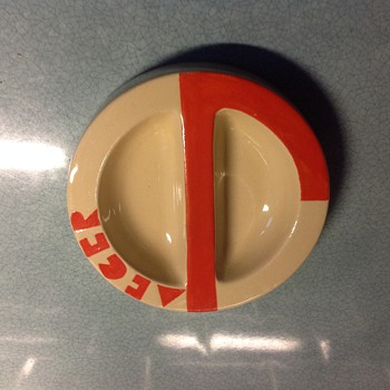 Art Deco Jaeger ashtray by Mintons