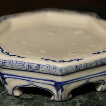 Unusual Porcelain Stand - China - Asian