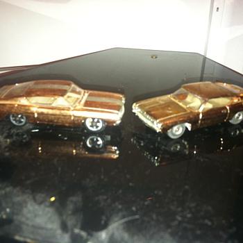 Aurora Speedline Ford Torinos - Model Cars