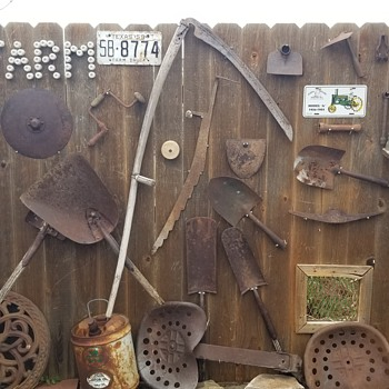 Old farm related and other items  - Tools and Hardware
