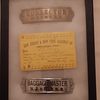 NJ & NY RR  Collection - Advertising