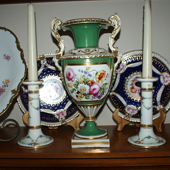 Minton Antique Candle Sticks – Around 1900's - China and Dinnerware