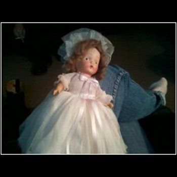 Bride doll with a story - Dolls