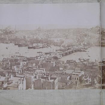 1870's panaromic photo of Istanbul - Photographs