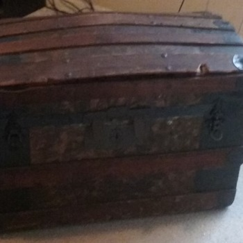 my new travel trunk
