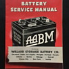 Battery service manual booklets.