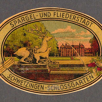 Travel Decal - Schwetzingen-Schlossgarten (Germany)