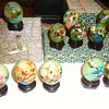 Item	Price	Qty	Total # 15355568 - Miniature Hand Painted Oriental Style Décor Eggs	$16.62	1	$16.62